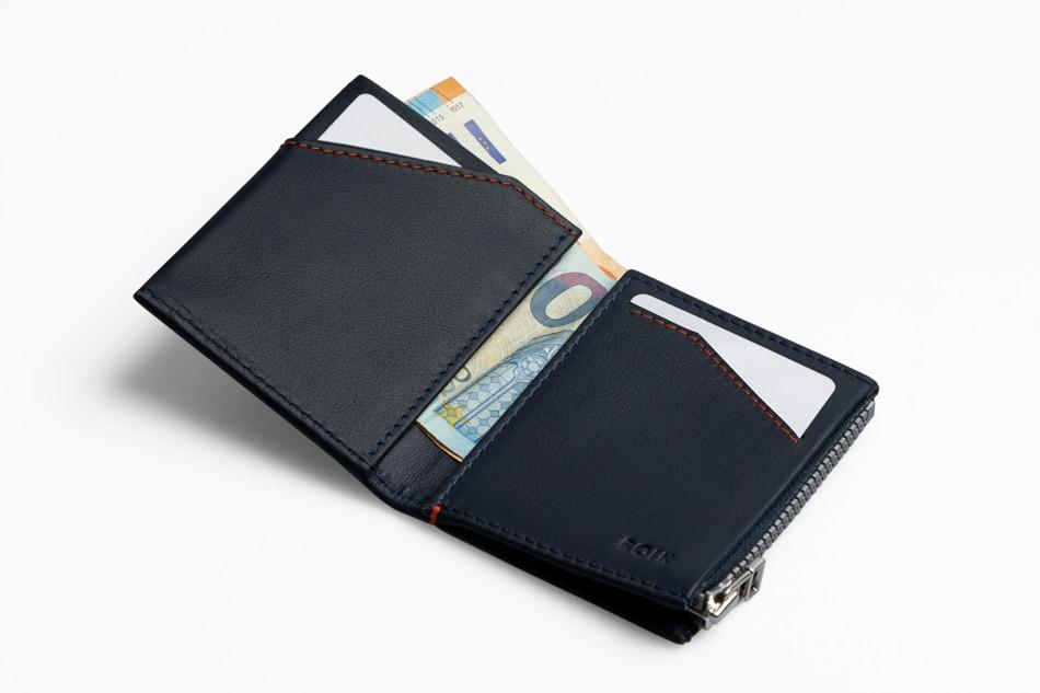 Zip Coin Blue Gift Set