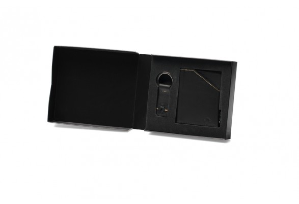 Zip Coin Black Gift Set